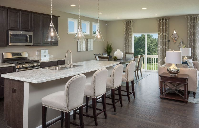 Mitchell:Perfect Size Kitchen for Cooking and Entertaining