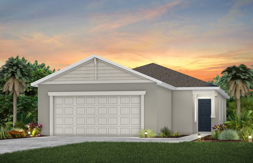 Bryce:New Home Exterior C1