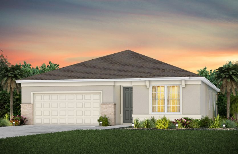 Highgate:New Home Construction FM1 with Stone