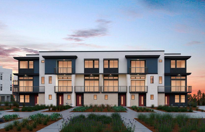 Exterior:6-Plex Building (CS 2)