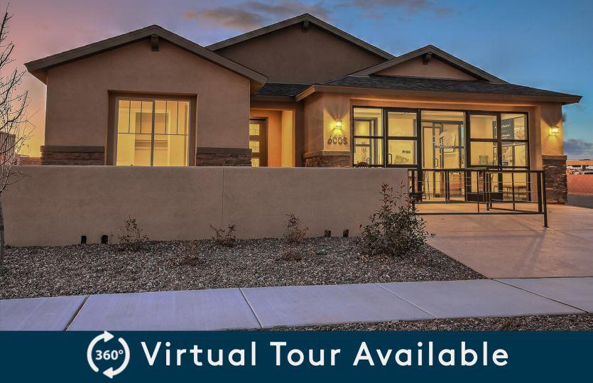 Tifton Walk:Take a virtual tour of the Tifton Walk home design at Mesa del Sol.