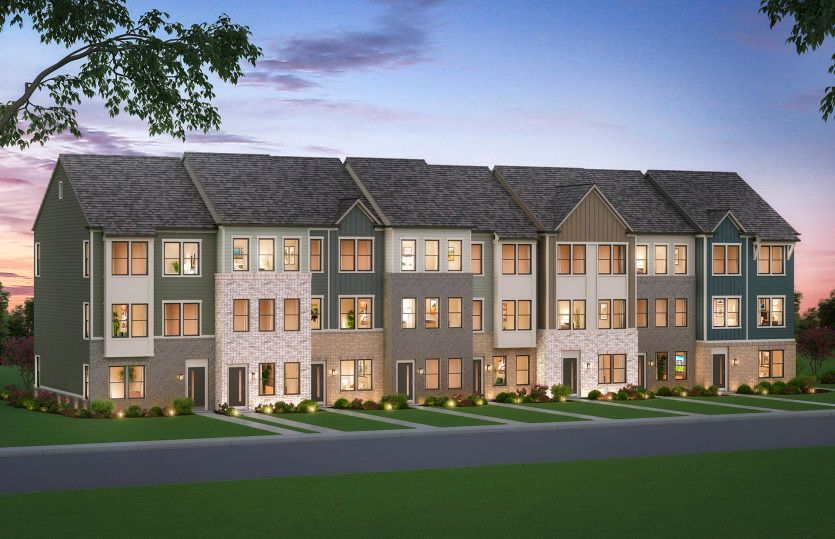 Halston:New Townhomes in Laurel, MD at Watershed, an outdoor experience-based community next to the Patuxent