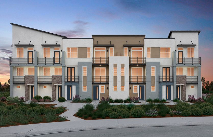Plan 3B:7-Plex Nautical Exterior
