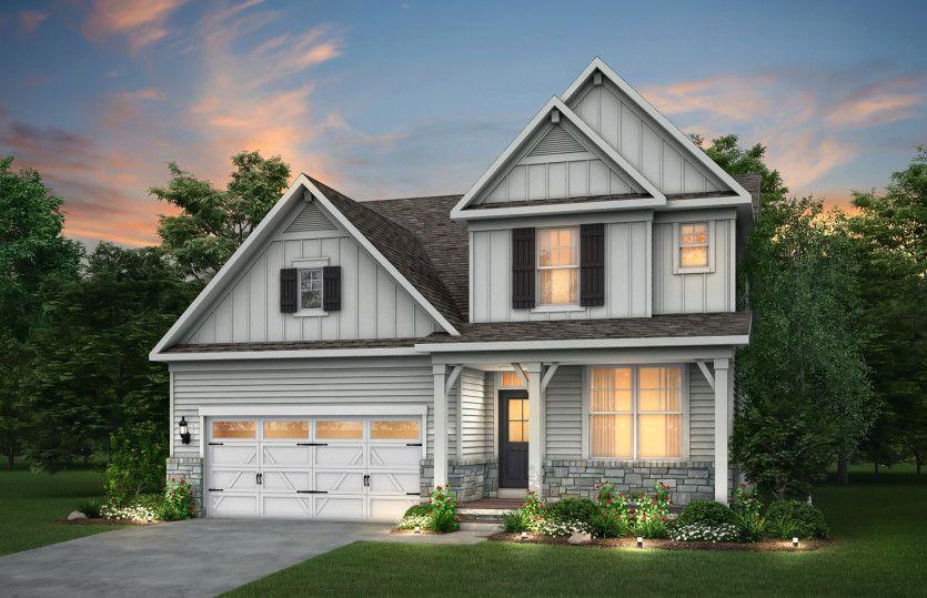 Linwood:Farmhouse Elevation