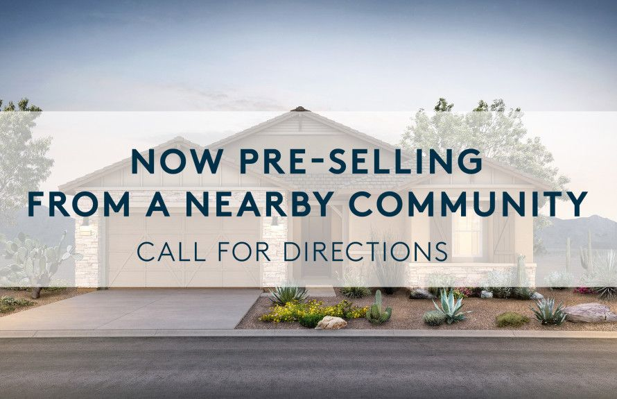 New Homes at Pre-Sale Pricing