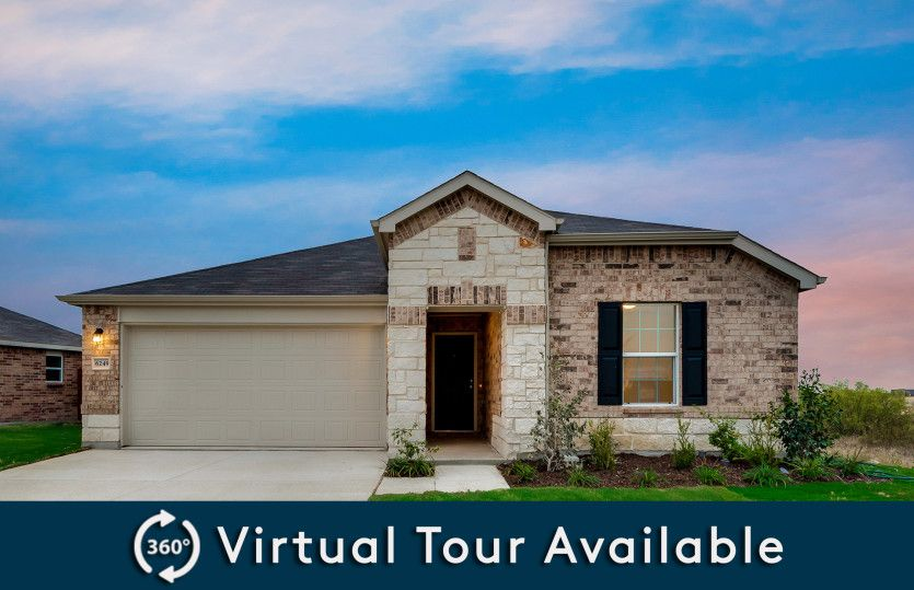 Serenada:The Serenada, a one-story home with 2-car garage