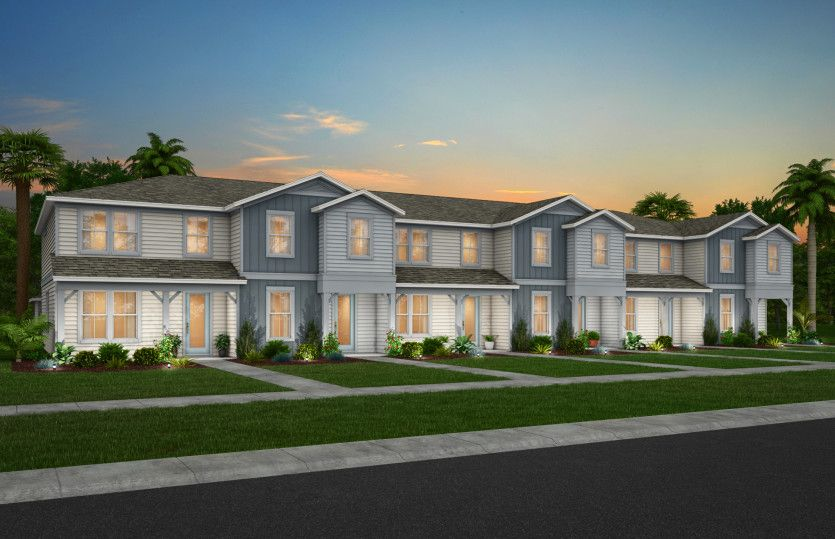 Trailwood Exterior:New Construction Townhomes for Sale