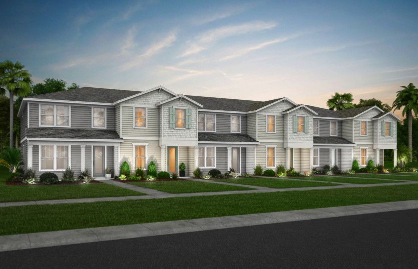 Trailwood Interior:New Construction Townhomes for Sale