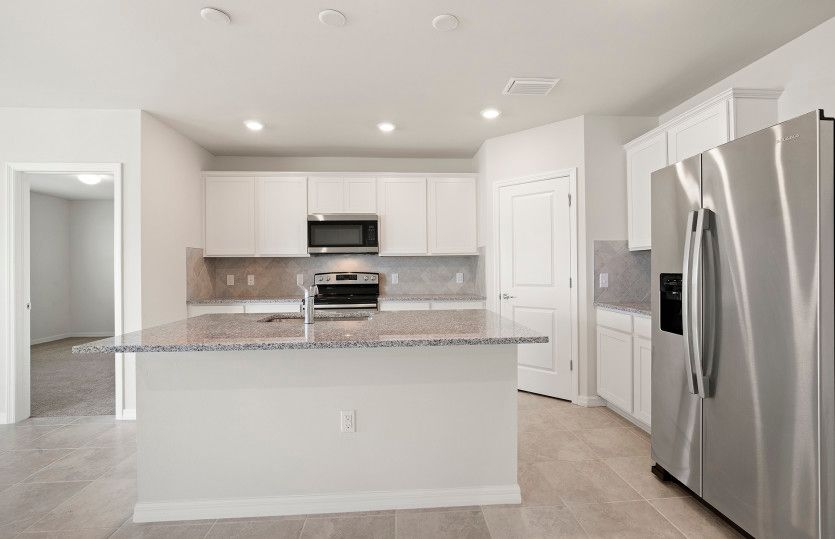 Chapman:Kitchen with Large Center Island