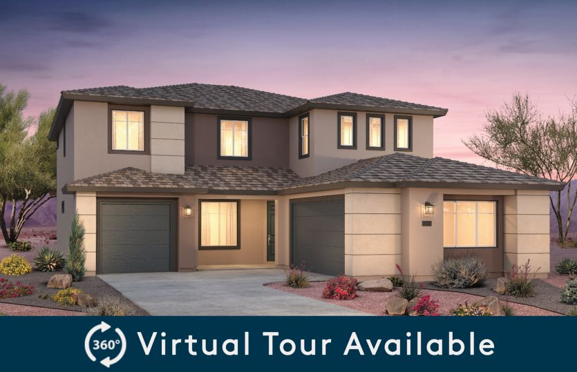 Exterior:Take a virtual tour of the Starwood home design at Broadmoor Heights Peak!