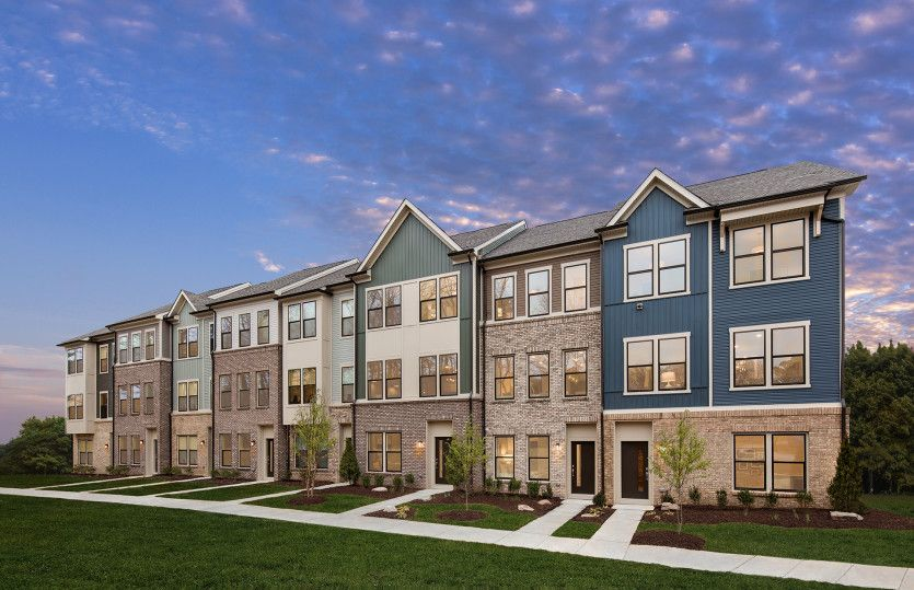 Frankton:New Townhomes in Laurel, MD at Watershed, an outdoor experience-based community next to the Patuxent