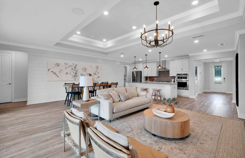 Ashby:Connected living space, perfect for entertaining