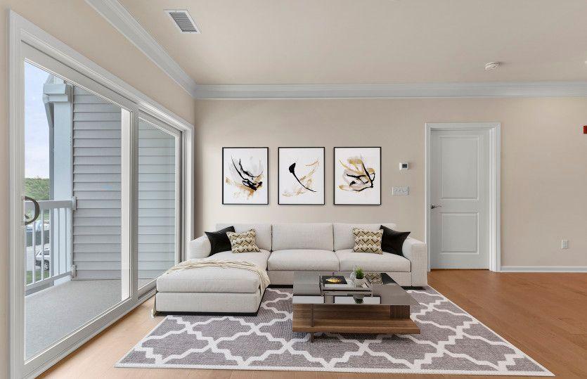 Exterior:Sunlit Living Spaces