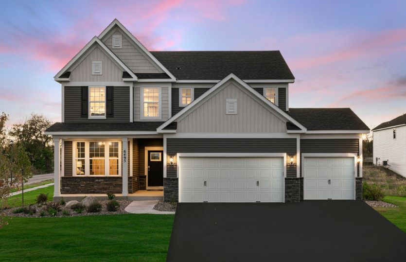 Newberry:Bailey Woods Model | Cottage Grove