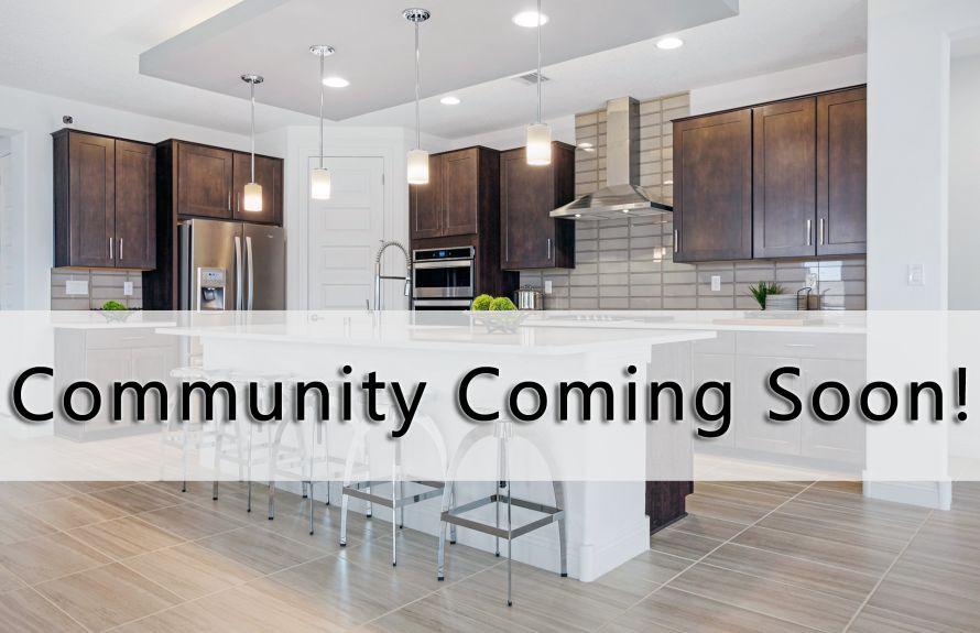 New Community Coming Soon