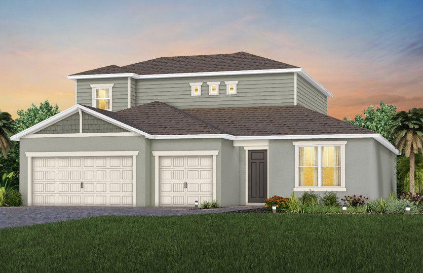 Ashby Grand:New Home Exterior C1