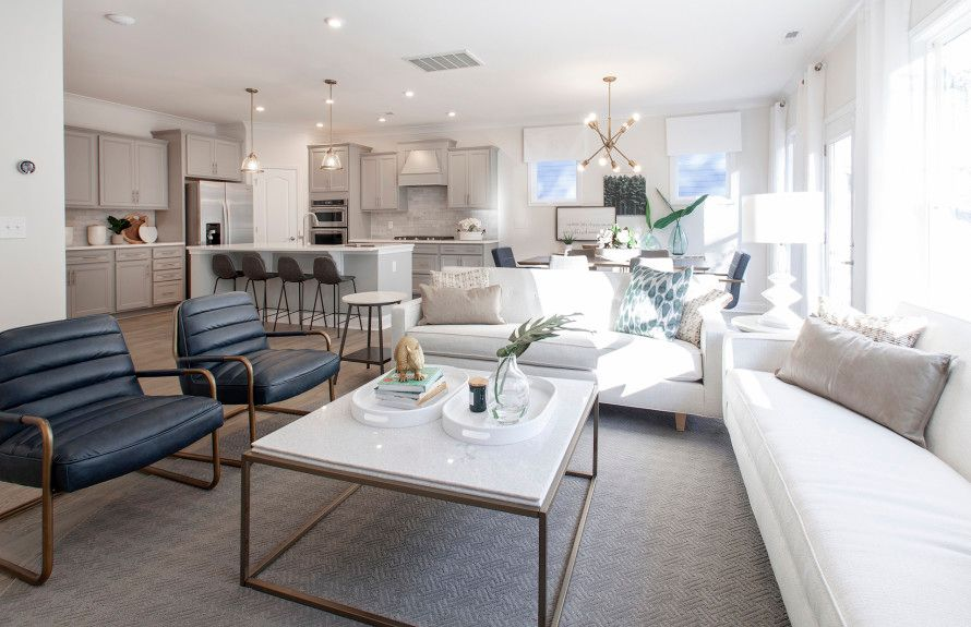 Bright Open Living Spaces