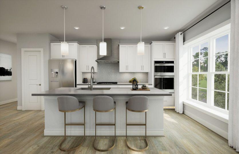 Allyson:Open Floor Plan Centered Around the Kitchen