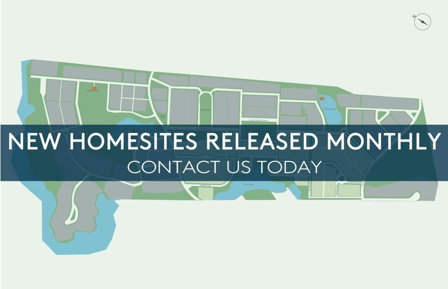 Homesites Released Monthly!