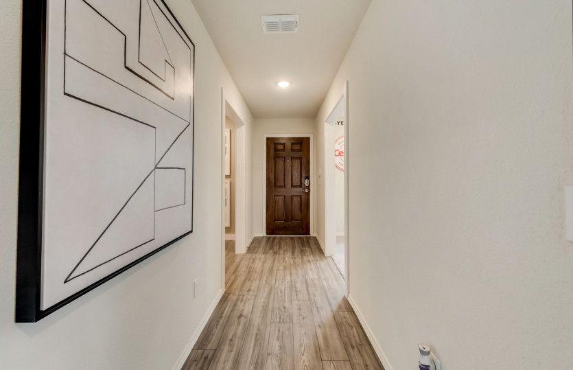 Hewitt:Welcoming entryway into home