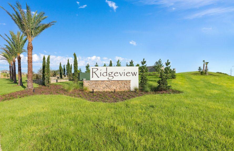 Ridgeview Entry