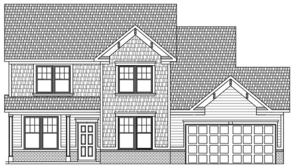Drawn Elevation of Home