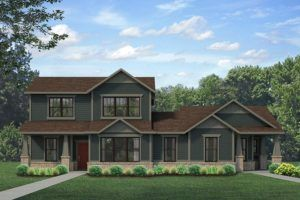 Estes Render:Render of new home