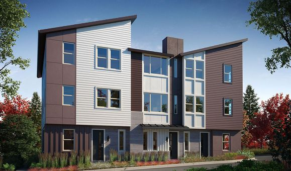 Exterior:Aldea - New townhomes in Newcastle