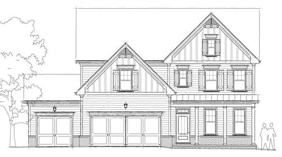 Woodbrook B:Elevation