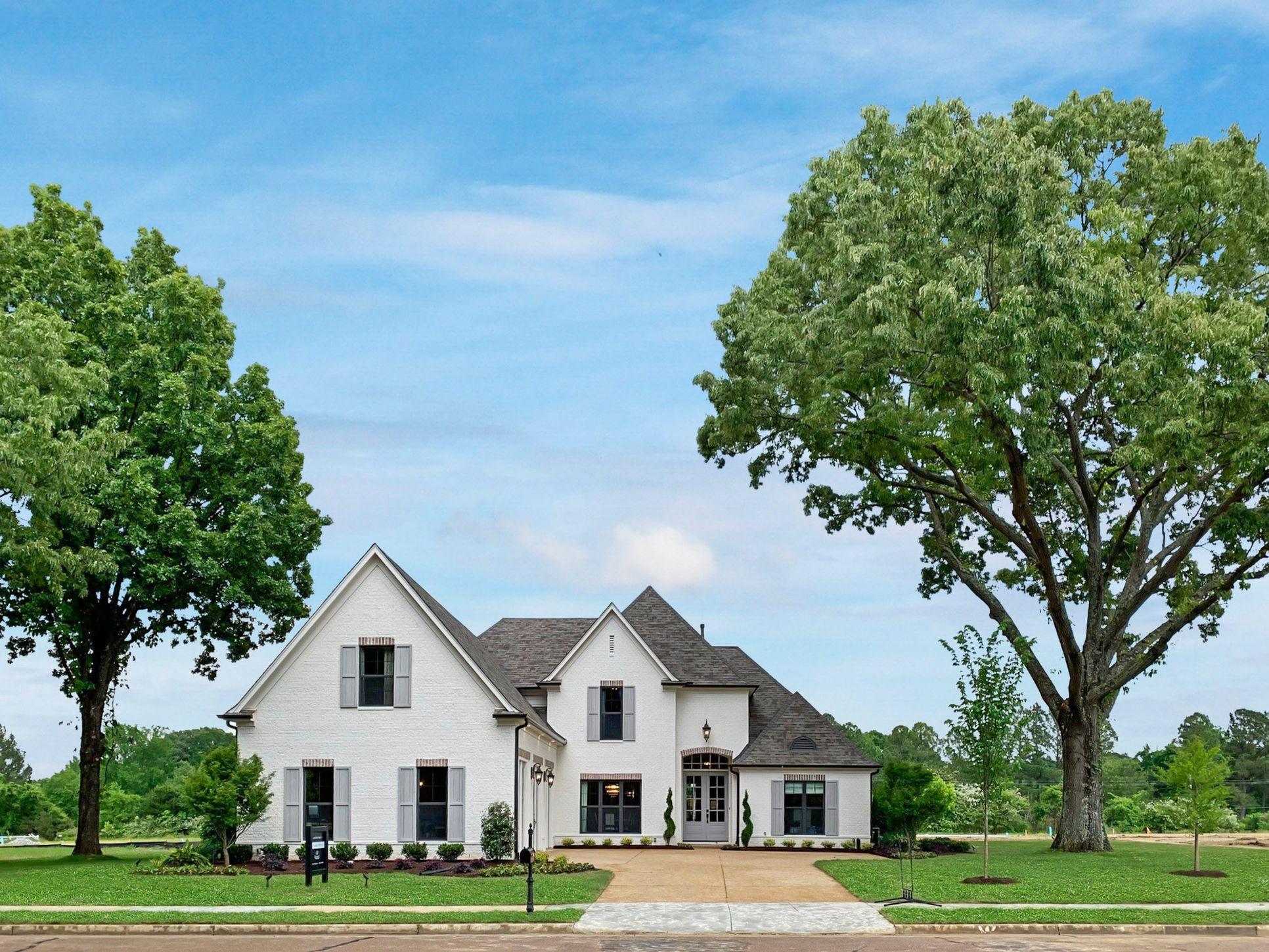 Winstead Farms Model Home:Carrington Plan