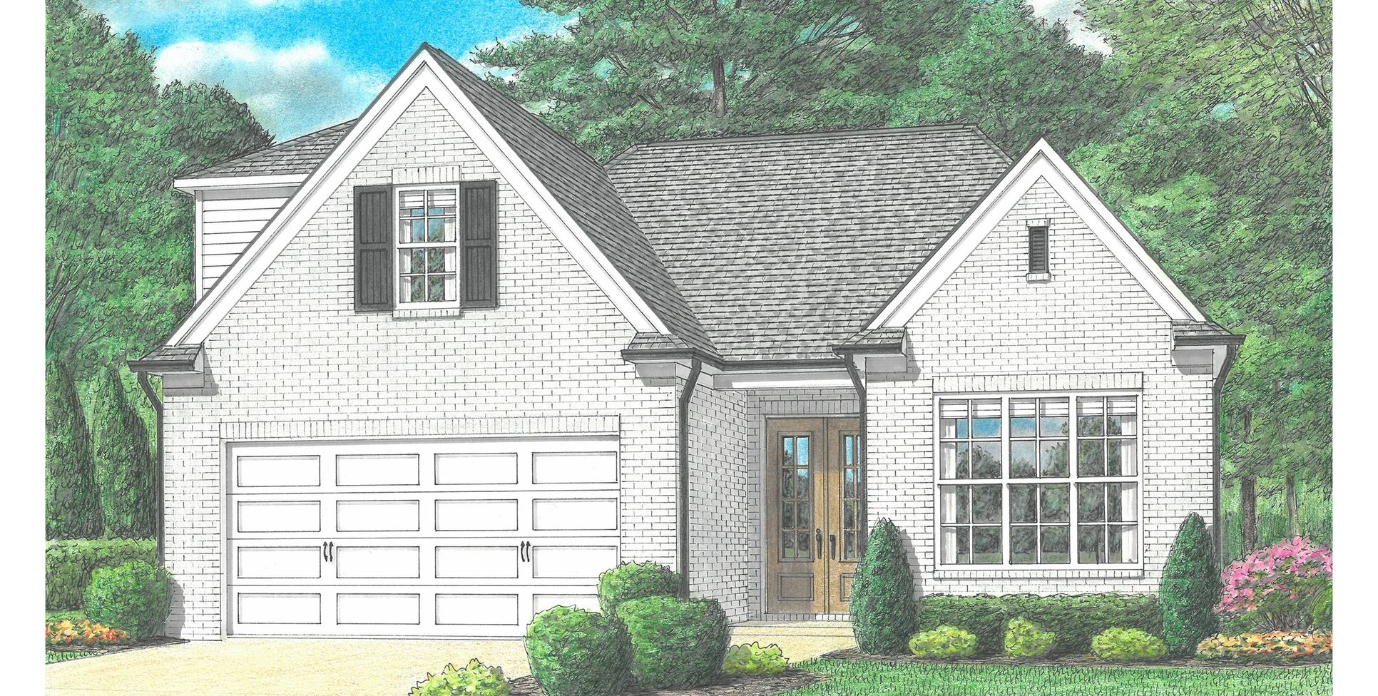 Pinecrest II :Elevation A