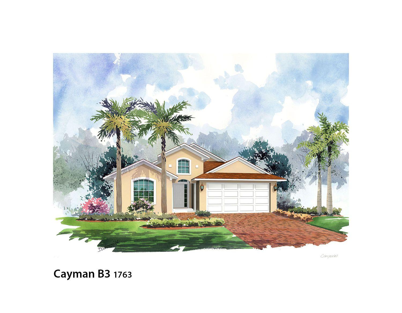 Cayman 1763:Elevation B3