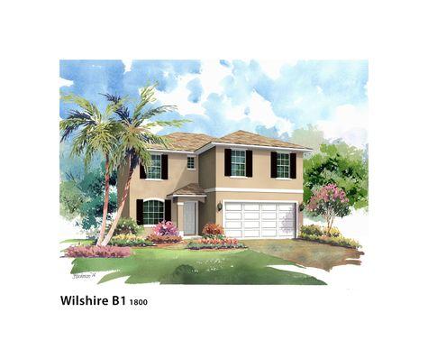 Wilshire 1800:Elevation B2