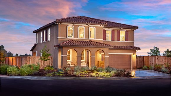 Andrea-NCA-Exterior dusk (Orchards at Valley Glen):The Andrea