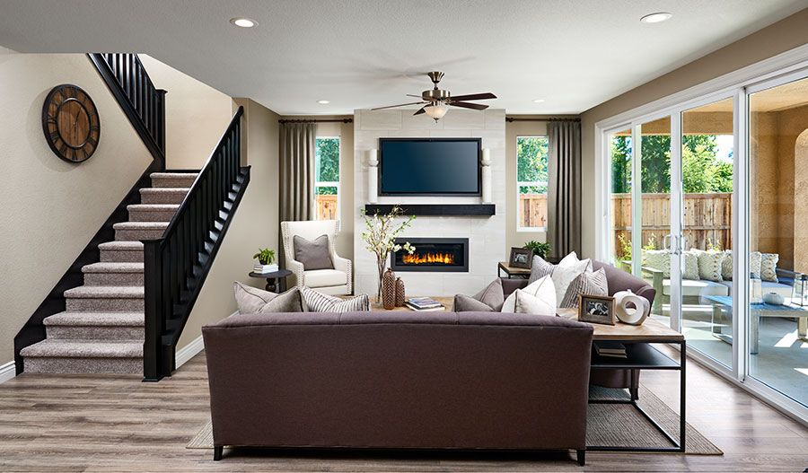Andrea-NCA-Family room (Orchards at Valley Glen):The Andrea