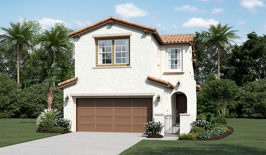 Erickson-N802-The Promontory at Stonebrae Elevation A:The Erickson - Elevation A