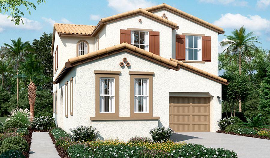 Lansdale-N795-Oliveto Elevation A:The Lansdale