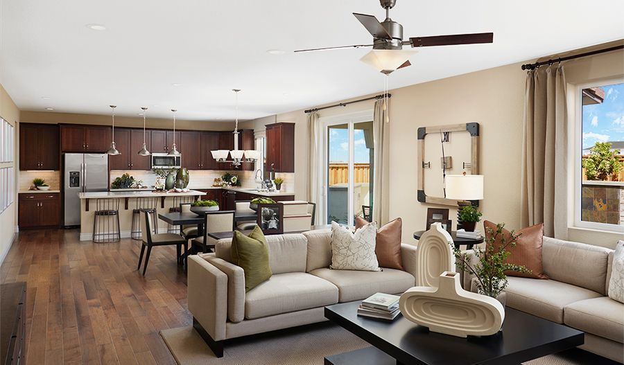 Thomas-NCA-Great room (Sandpointe at River Islands):The Thomas