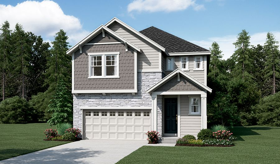 Liesel-W712-Westridge Elevation E:The Liesel - Elevation E