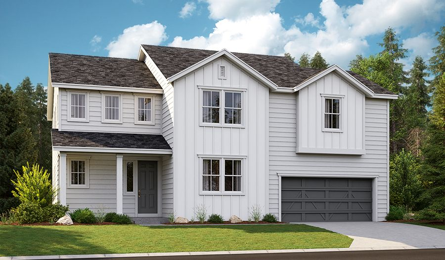 Oakley-W623-ForestGlen Elevation F:The Oakley - Elevation F