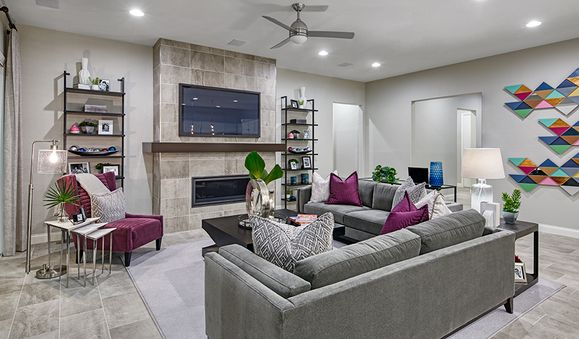AgaveCrest-LV-Oxford Family Room:The Oxford