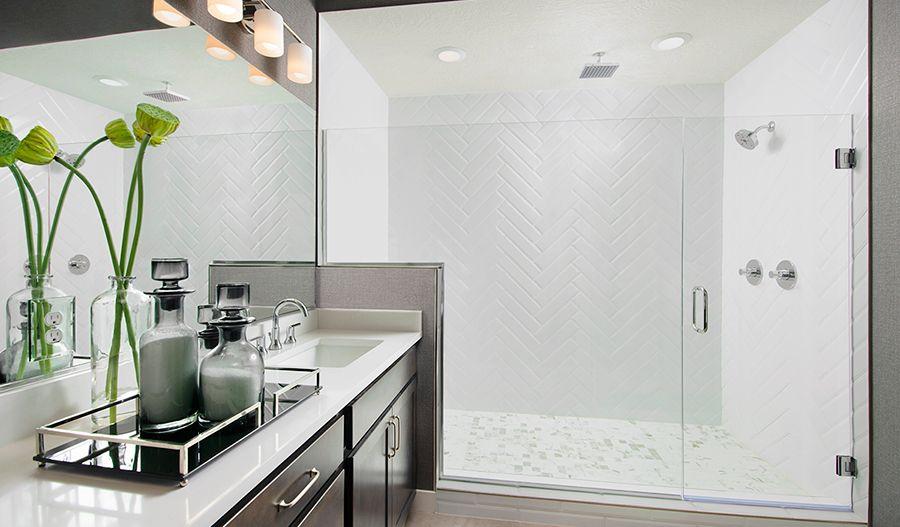 LaytonShores-UT-Delaney Owner's Bath:The Delaney