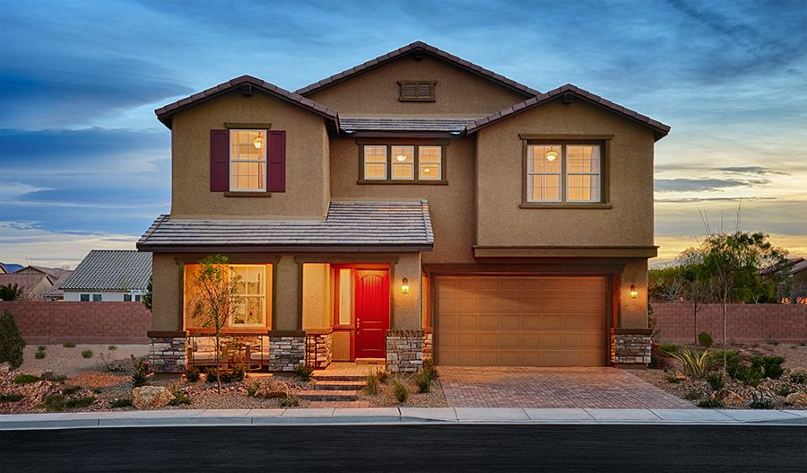 Sage-LV-Exterior twilight (River Grove)