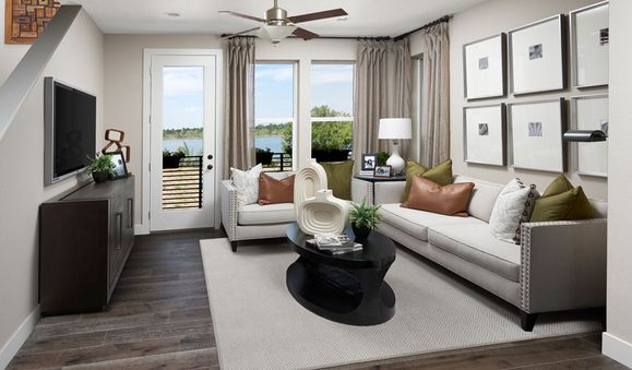 CityscapeAtHighline-DEN-Soho Living Room:The Soho