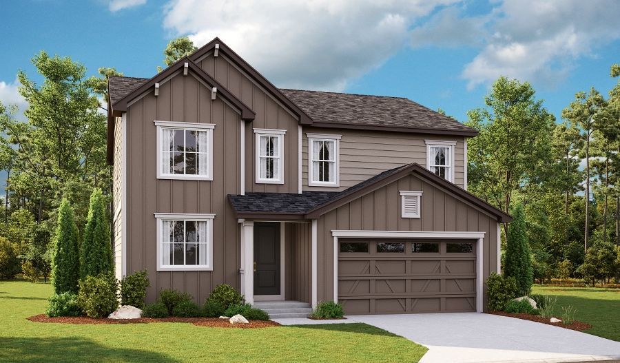 Hemingway-D250-RalstonRidge Elevation A:The Hemingway - Elevation A