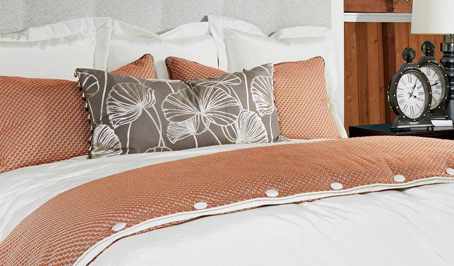 Standard series 3 - Alexa-MBed-white-gray-orange:Owner's bedroom