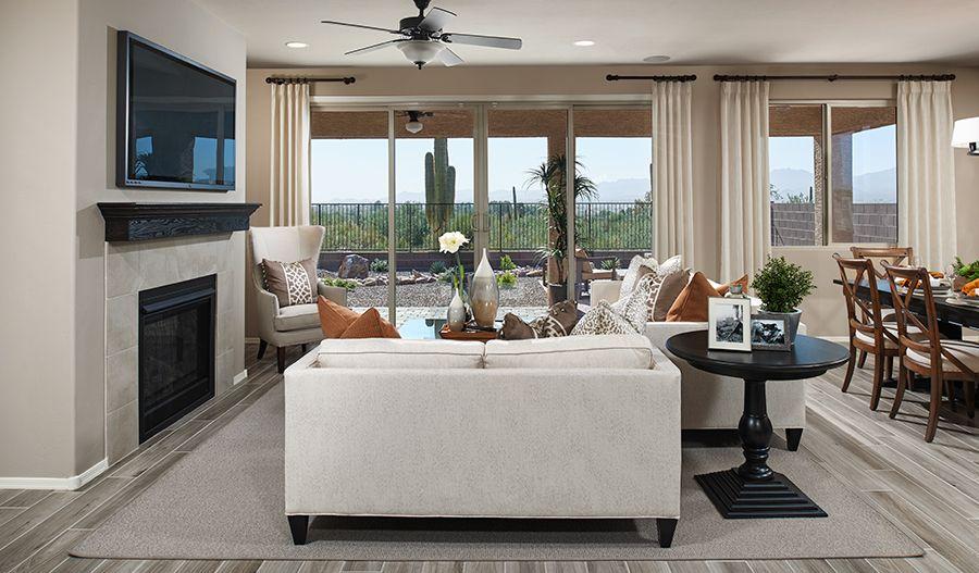 Arlington-TUC-Great room (Willow Vista):The Arlington