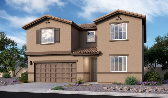 Coronado-T723-RanchoCascabel Elevation A:The Coronado - Elevation A