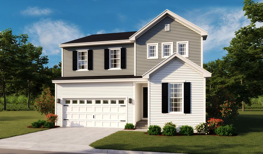 Pearl-MidAtlantic Elevation A:The Pearl - Elevation A