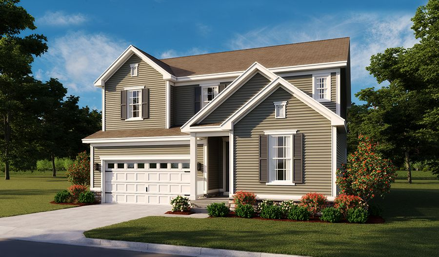 Hopewell-MidAtlantic Elevation A:The Hopewell - Elevation A